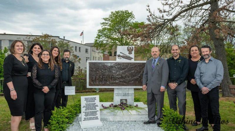 Για πρώτη φορά στις ΗΠΑ, Μνημείο Γενοκτονίας των Ποντίων, από Δραμινούς της ομογένειας !!!